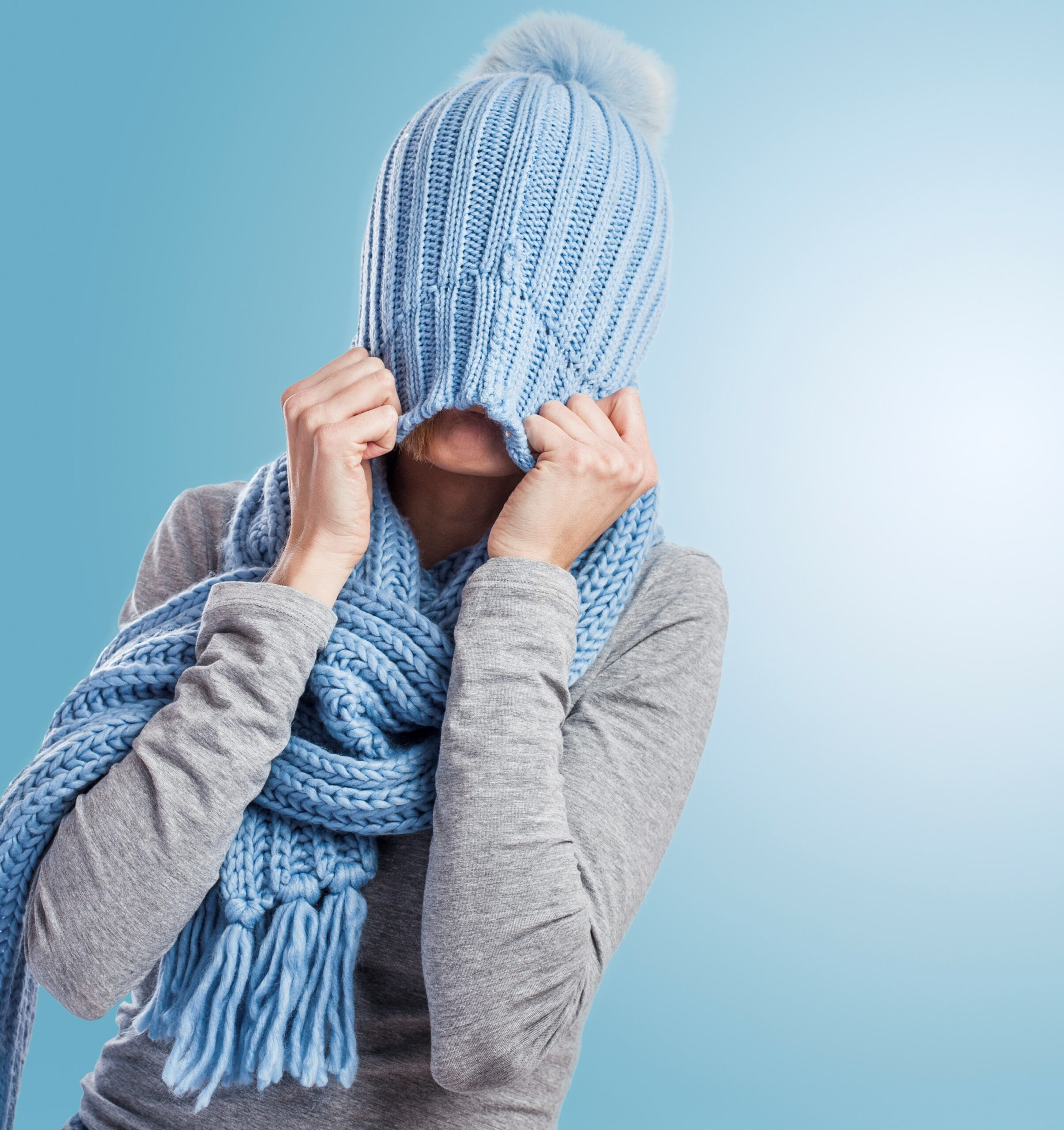 Eczema can flare in the winter